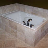 Bathroom – custom tub